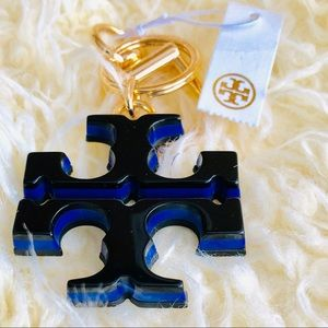 NWT :TORY BURCH Key Ring / Bag Charm